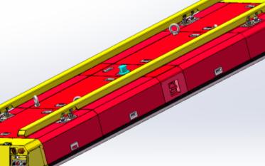 华晟智能全自主设计研发的重载潜入顶升式AGV:LN-DJ041