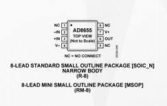 低压低噪音精密放大器AD8655的性能特点及应用范围