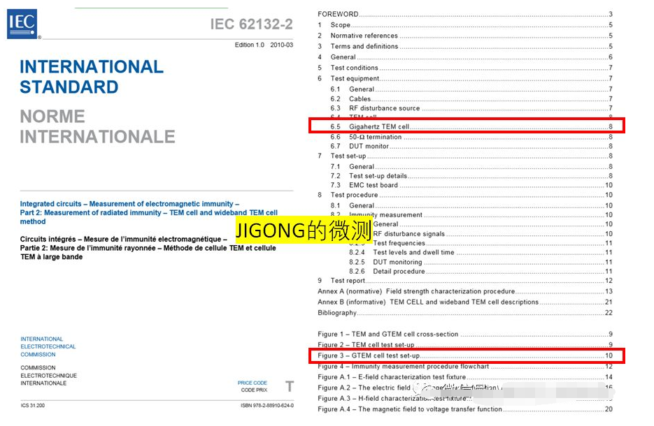 集成电路IC的EMC测试标准