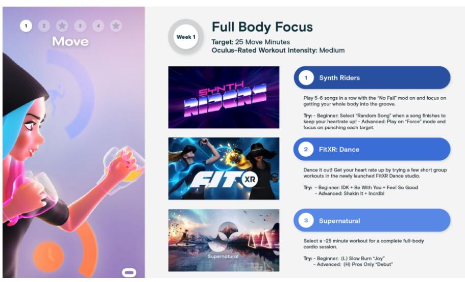 Oculus Quest2帮助你启动2021年的健康之旅