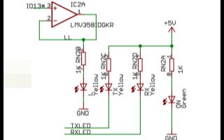 Arduino Leonardo的电路原理图免费下载