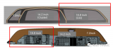 量产车最大屏幕卡迪拉克38英寸车机拆解
