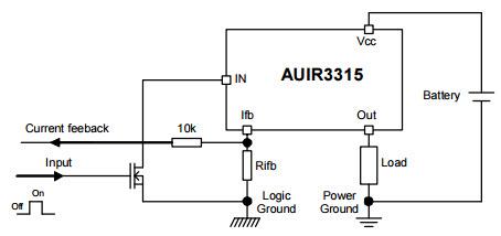 基于AUIR3315_Typical Application电流检测的参考设计