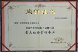 """苏杭电子连续四年被评为""""中国电子电路行业优秀民族晶牌企业"""""""
