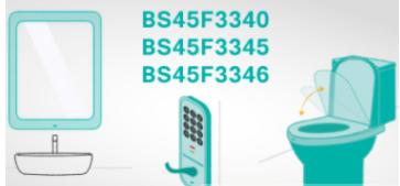 Holtek新增BS45F3340/BS45F3345/BS45F3346成员