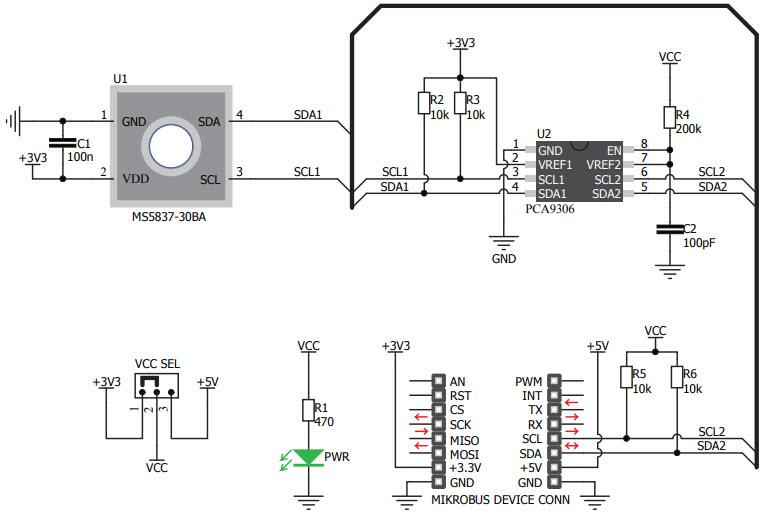 基于MIKROE-3246压力传感器的参考设计