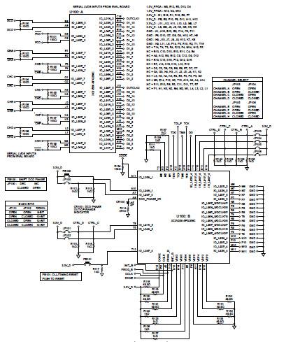 fpga的lvds设计原理图_字体设计
