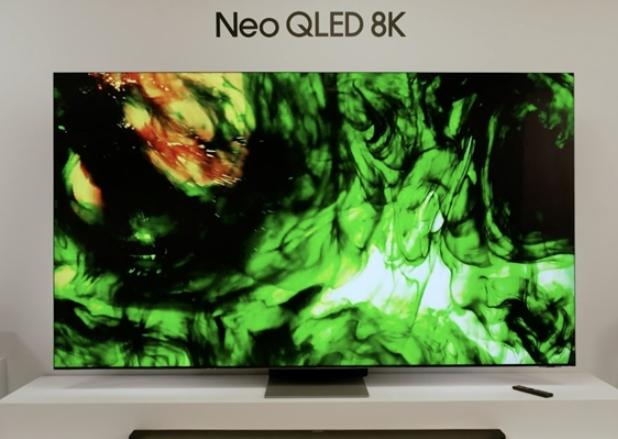 三星推量子Mini LED 8K智能电视