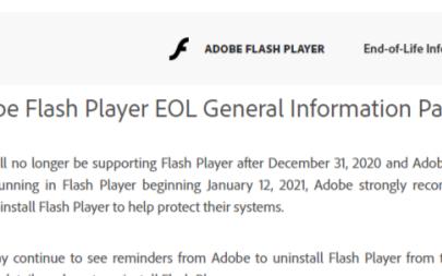 為什么Flash被拋棄了