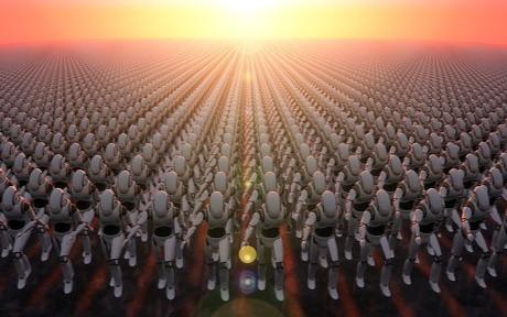 """美媒:美军给机器人加""""肌肉"""" 将为陆军和海军陆战..."""