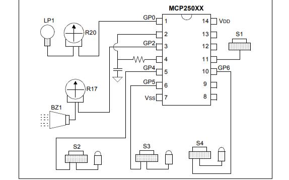MCP250XX微控制器的开发工具包用户指南