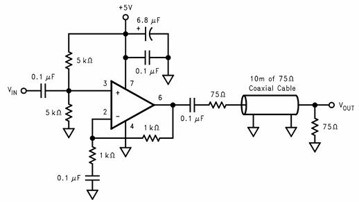 高速LMH放大器LMH6723/4/5的性能特点及应用范围