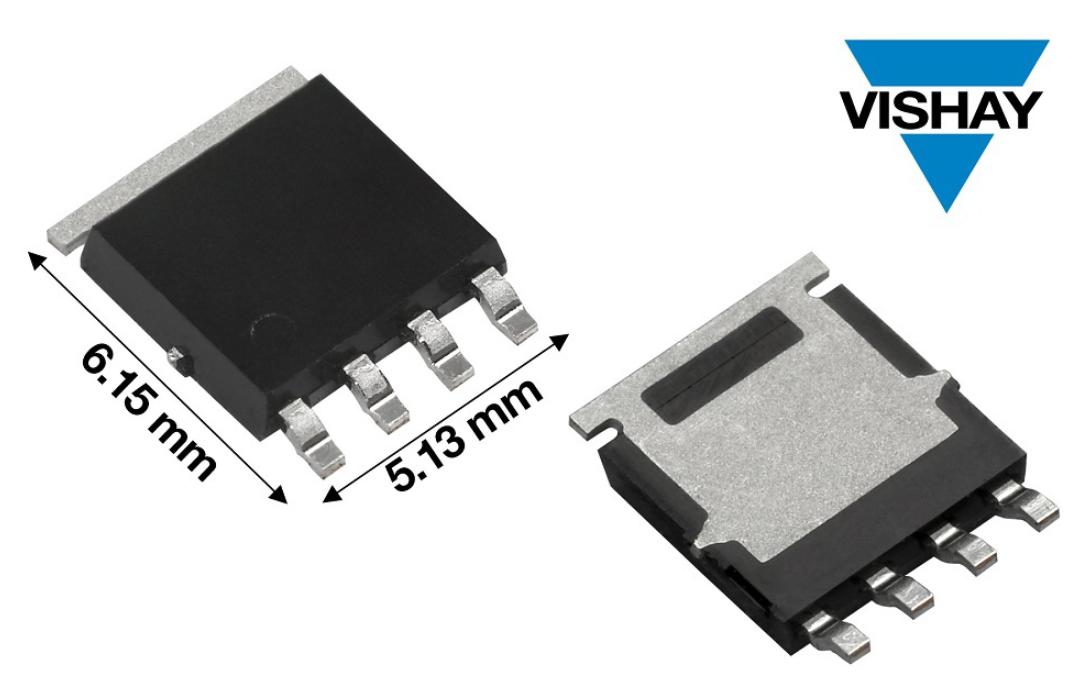 Vishay推出具備優異導通性能且經過AEC-Q101認證的100V汽車級P溝道MOSFET