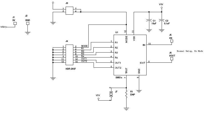 基于SI85XX-EVB电流检测的参考设计