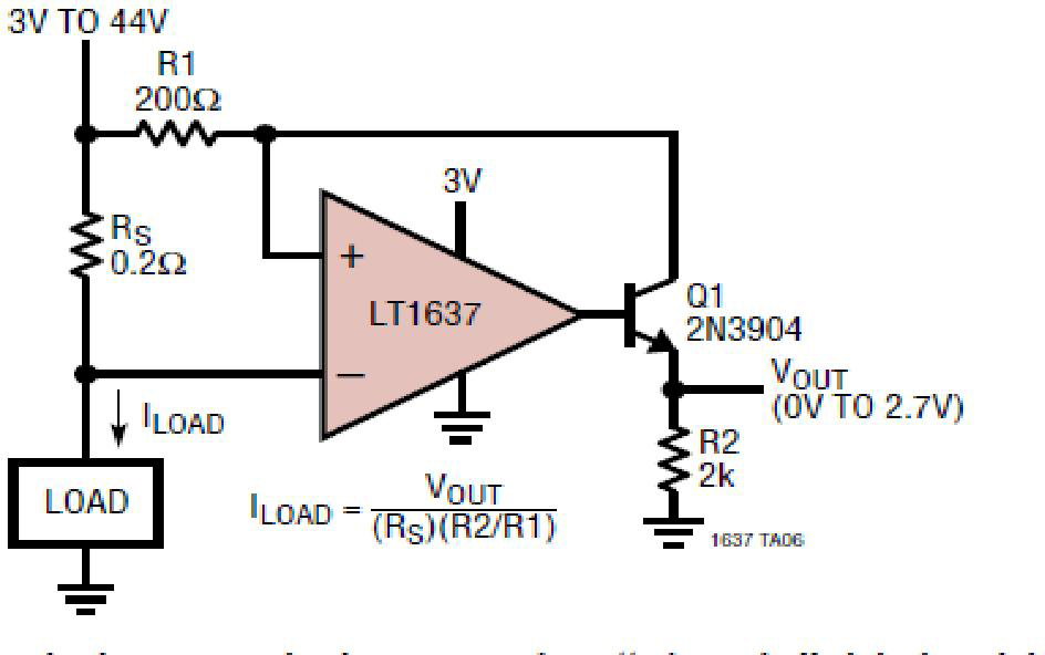 基于AN-105电流检测的参考设计