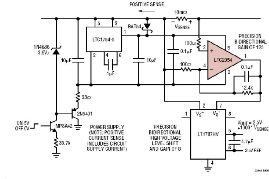 基于AN-105电流检测的参考设计123