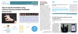 重庆大学研制柔性无线可穿戴手势翻译系统:传感阵列...