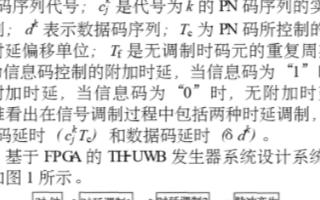 基于Altera DE2 FPGA开发平台实现TH-UWB窄脉冲信号发生器系统设计