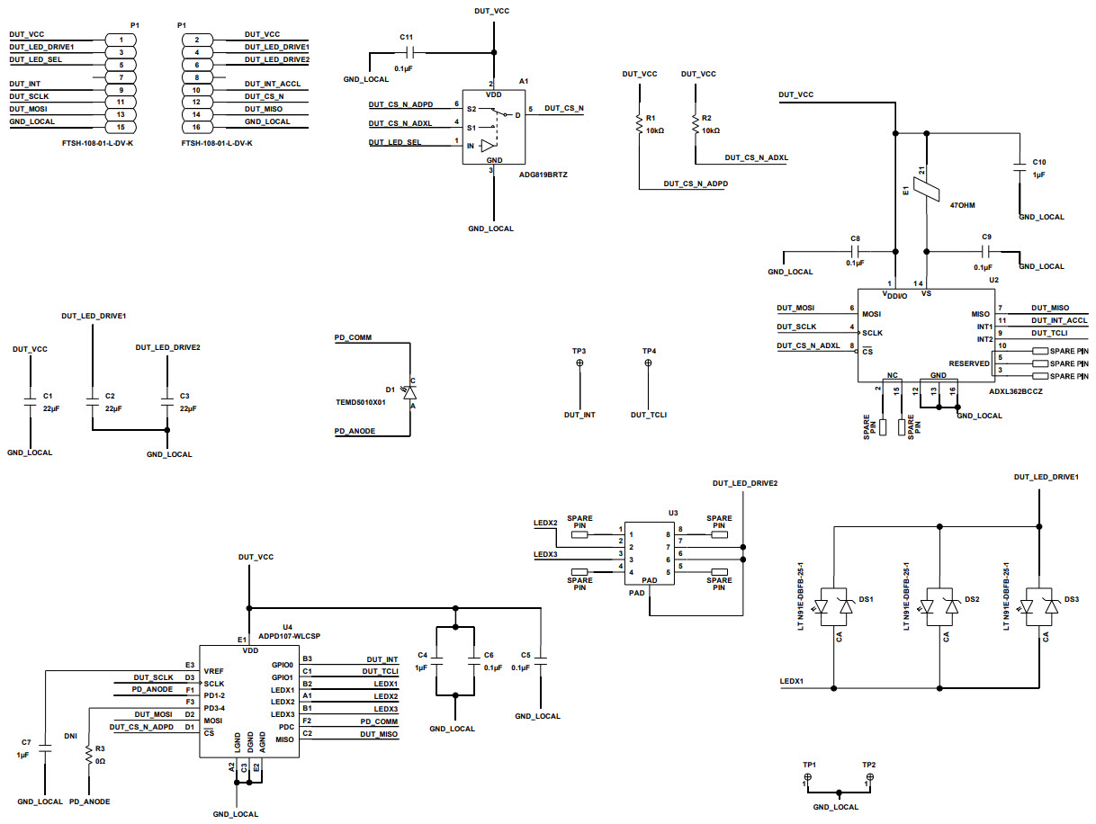 基于EVAL-ADPD1081Z-PPG图像传感器的参考设计