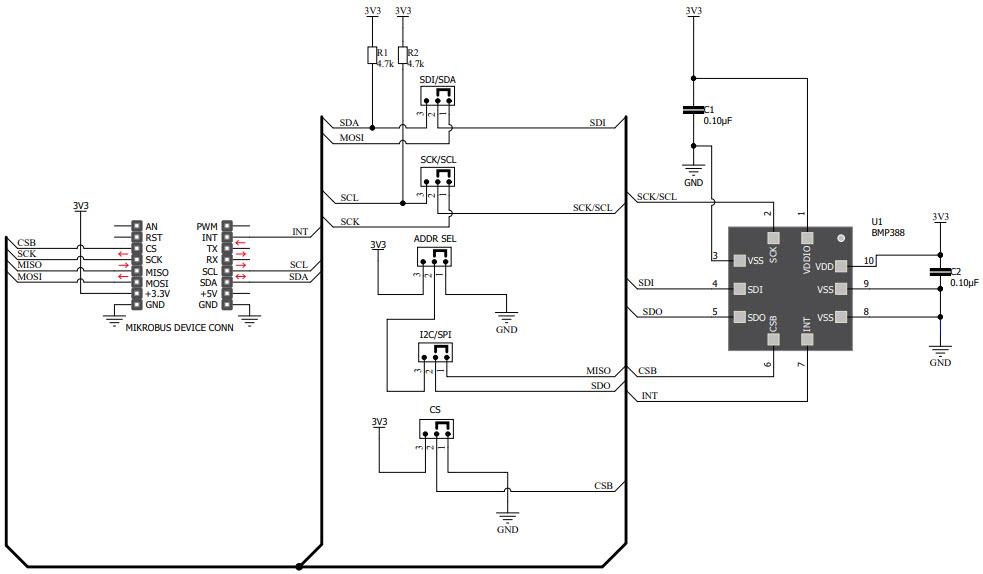 基于MIKROE-3566压力传感器的参考设计