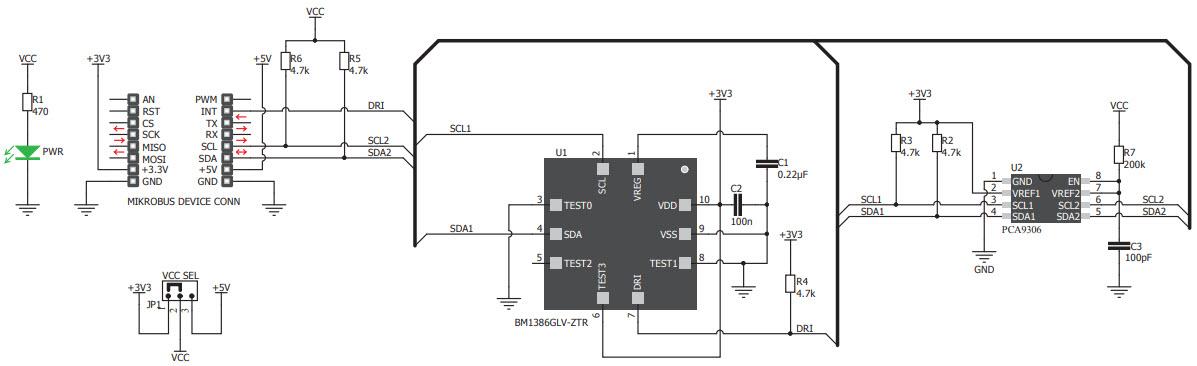 基于MIKROE-3216压力传感器的参考设计