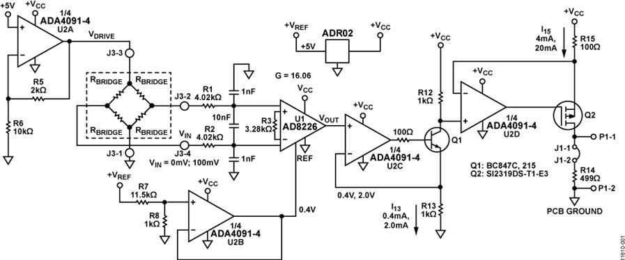 基于CN-0295压力传感器的参考设计