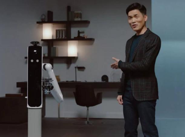 三星演示私人AI管家機器人Bot Handy