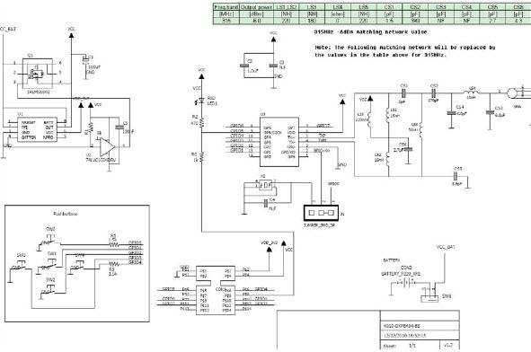基于4010-DKPB434-BS發射器的參考設計