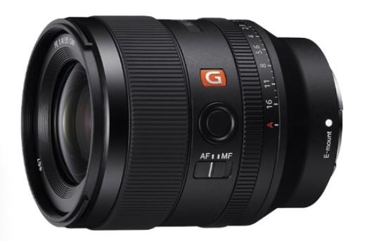 索尼发布镜头旗舰 G 大师系列 FE 35mm F1.4 GM 全画幅定焦镜头