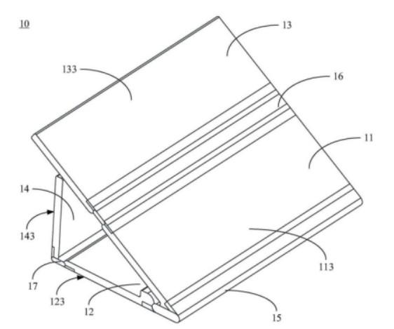 解析OPPO的折叠屏幕专利