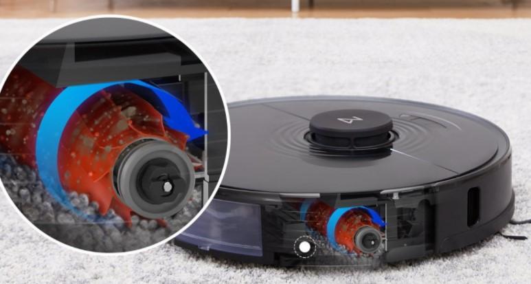 石头科技发布石头扫地机器人 S7:声波震动拖布、搭载专门的地毯识别传感器