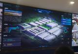 浙江省物联网产业协会陪同青山湖科技城参观可视化AI园区