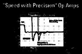 低噪音运算放大器OPA84x的性能特点及应用范围