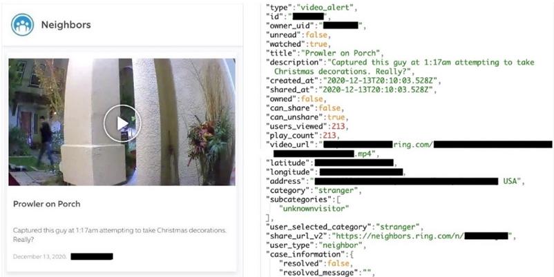 亚马逊摄像头应用被曝泄露用户详细数据