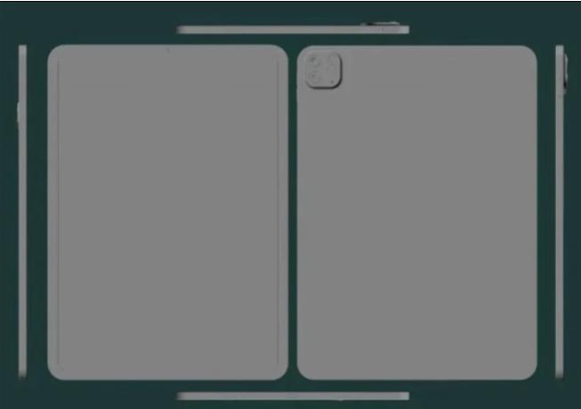 苹果iPad Pro CAD设计图曝光