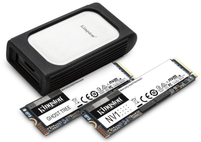 金士頓演示新款NVMe SSD產品線等