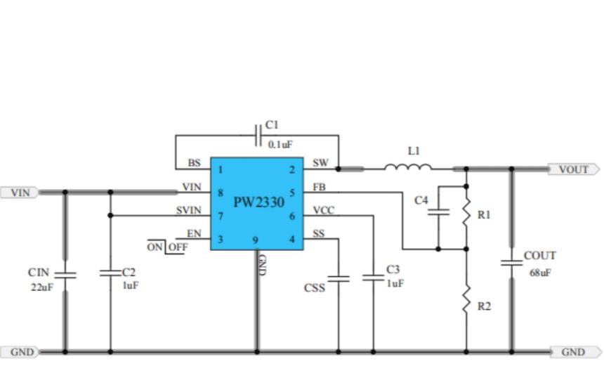 LDO线性稳压器PW6206的数据手册免费下载