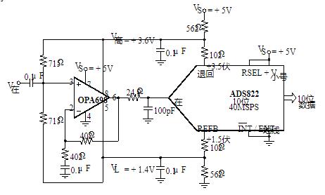 宽带电压限幅放大器OPA698/9的性能特点及应用