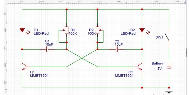 经典的多谐振荡器电路图解析