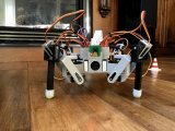 用树莓派做蜘蛛机器人,还是3D打印的!
