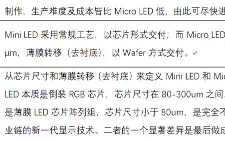 关于Mini&Micro LED的七大灵魂拷问