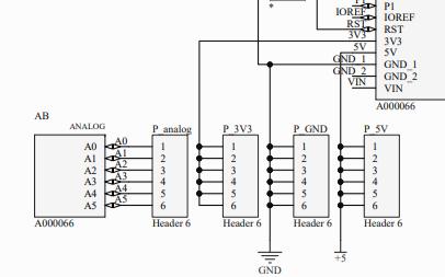 小红板的LED电路原理图免费下载