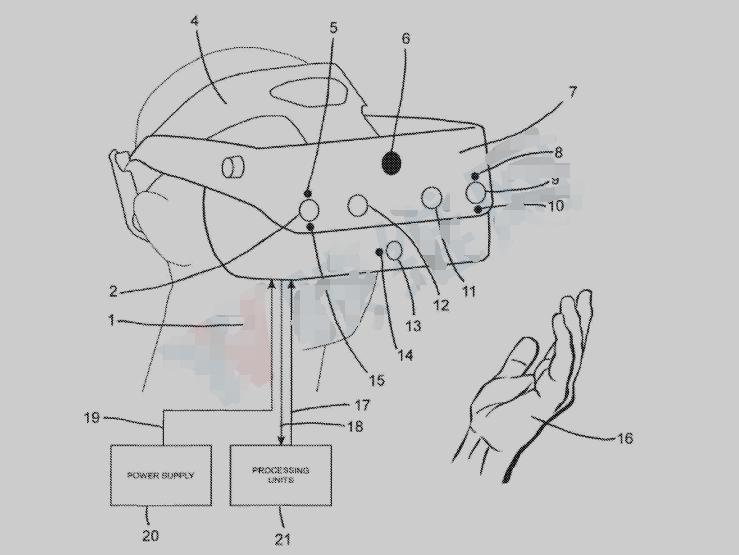 苹果VR头显新专利抢先看