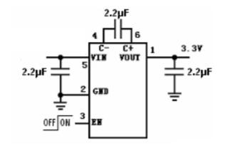 HM3200B开关电容倍压器的数据手册免费下载