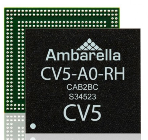 安霸半导体推支持4K/8K视频的AI视觉芯片