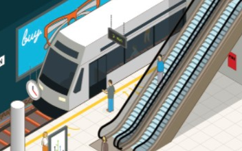 """我國完全自主知識產權的高鐵列車""""復興號""""最新款首次載人跨省運行"""