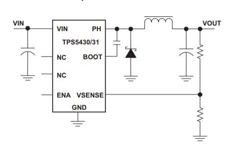 TPS5430和TPS5431降壓轉換器的數據手冊免費下載