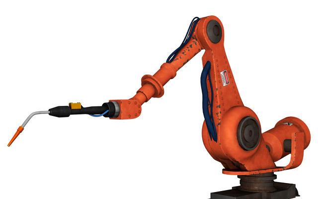 史陶比尔悬挂式喷涂6轴机器人与控制器结合方案