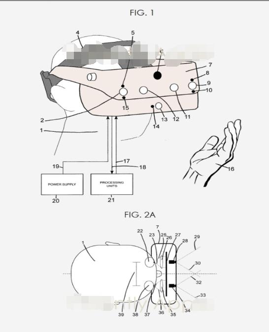 苹果头戴式显示器专利申请抢先看