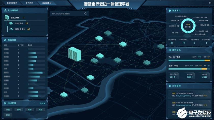 """闪马智能推""""星云""""城市空间异常管理平台,全方位感知助力交通新基建"""